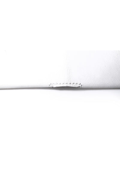 Shop Emerging Slow Fashion Avant-garde Artisan Leather Brand Gegenüber White Wunde Wallet at Erebus