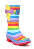 Evercreatures Rainbow Short Wellies