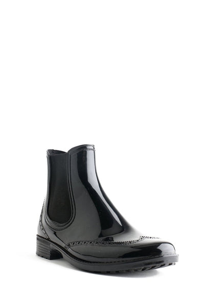 Evercreatures PVC Black Rum Chelsea Wellies