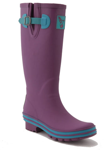 Evercreatures Eggplant Tall Wellies