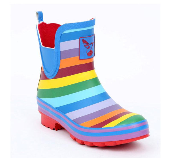 Evercreatures Rainbow Meadow Ankle Wellies