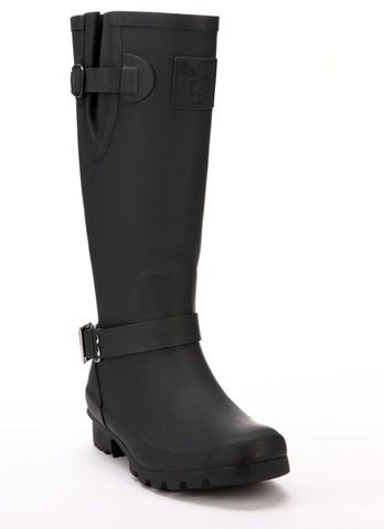 Evercreatures Triumph Charcoal Tall Wellies