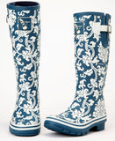 Evercreatures Delft Tall Wellies