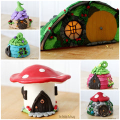 Fairy Houses and Gnome Homes