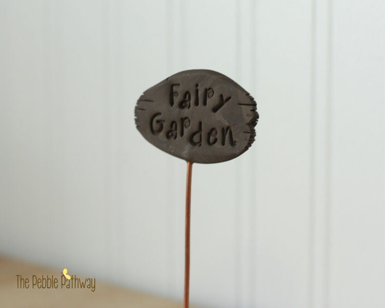 Fairy Garden Sign - Plant Poke
