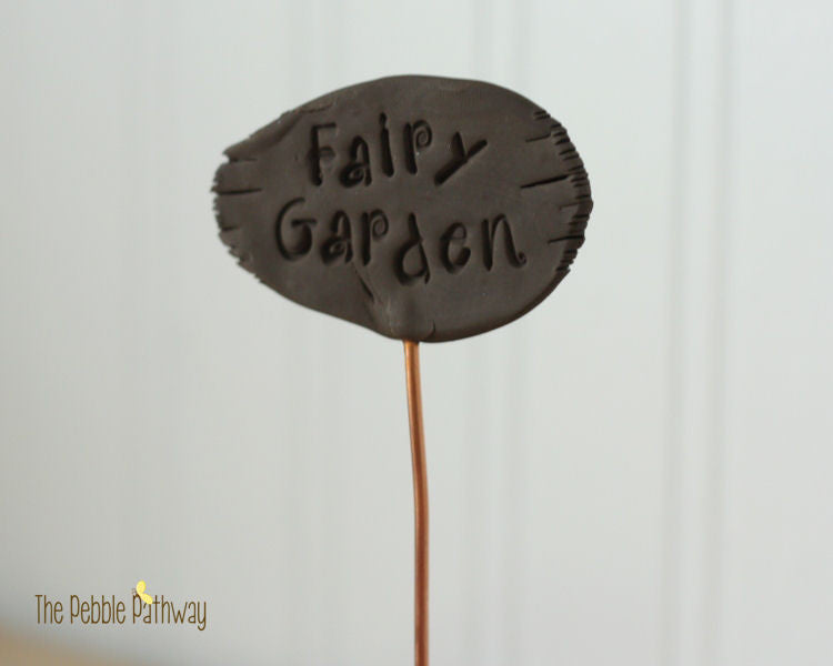 Fairy Garden Sign - Plant Poke 2 - ThePebblePathway