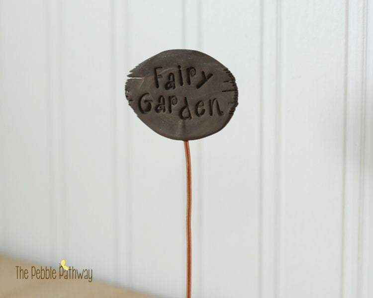 Fairy Garden Sign - Plant Poke 003
