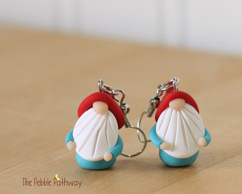 Tiny Gnome Earrings 0333