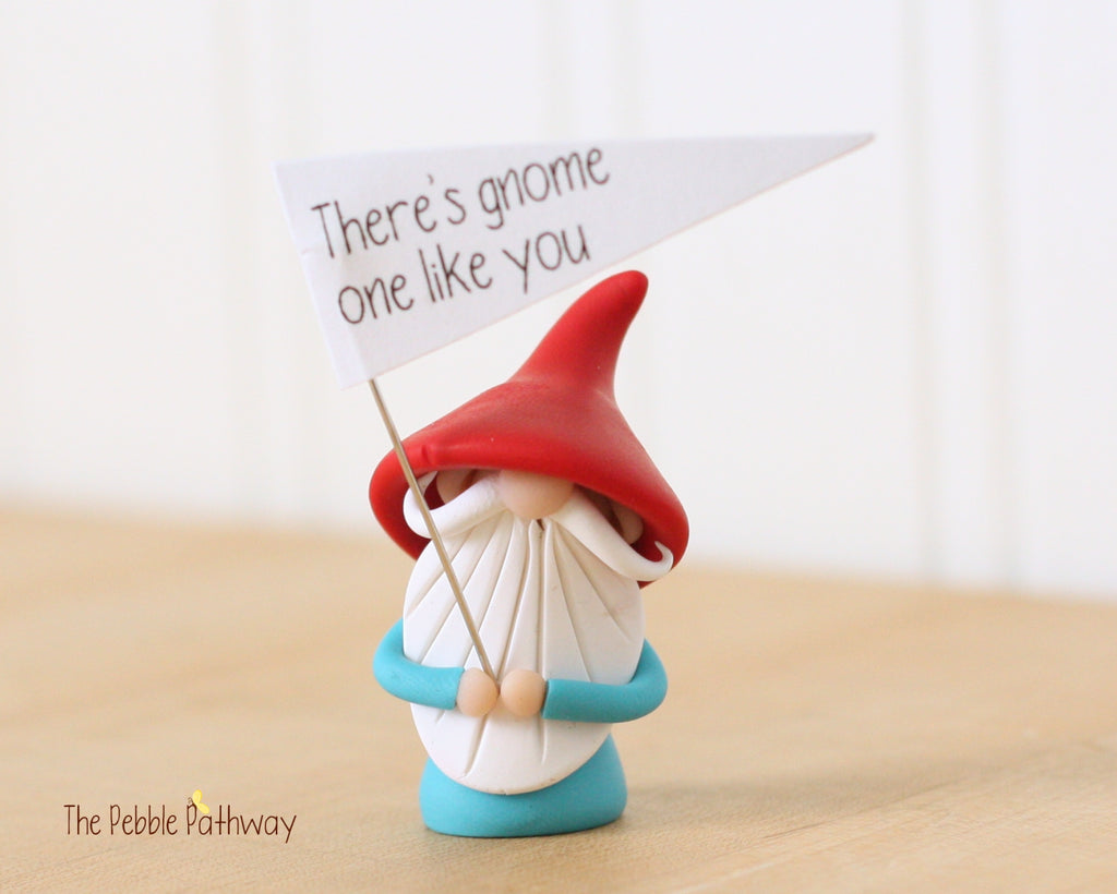 There's Gnome One Like You - Greeting Gnome 0361 - ThePebblePathway