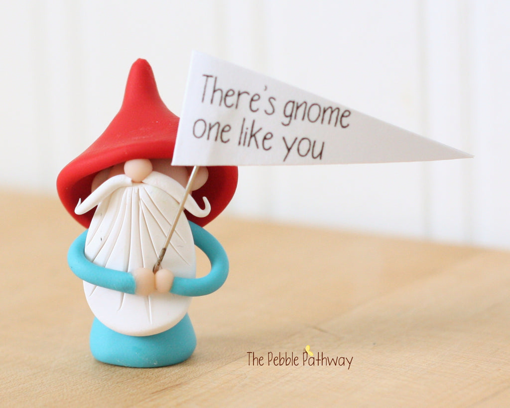 There's Gnome One Like You - Greeting Gnome 0423 - ThePebblePathway