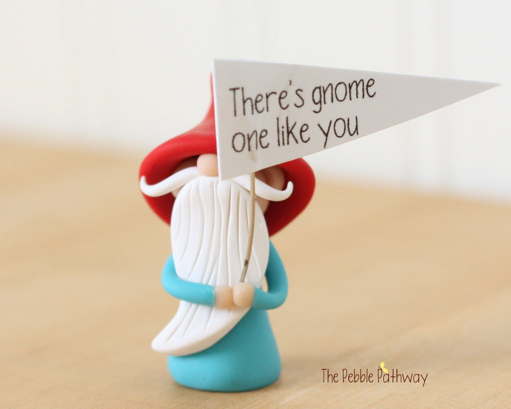 There's Gnome One Like You - Greeting Gnome 0424 - ThePebblePathway
