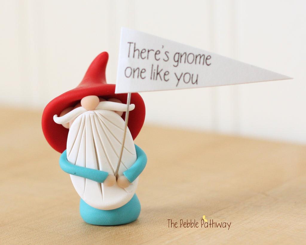 There's Gnome One Like You - Greeting Gnome 0426 - ThePebblePathway