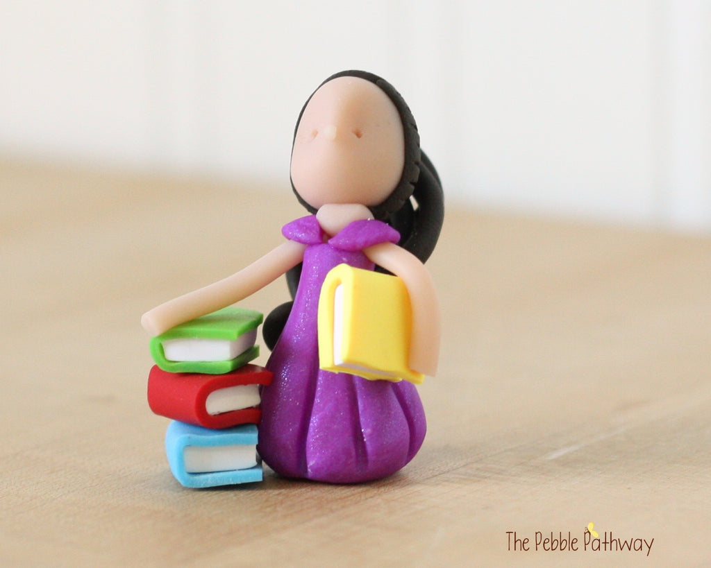 Career Fairy - Bibliophile - Book Lover Fairy - Student Fairy 0451 - ThePebblePathway