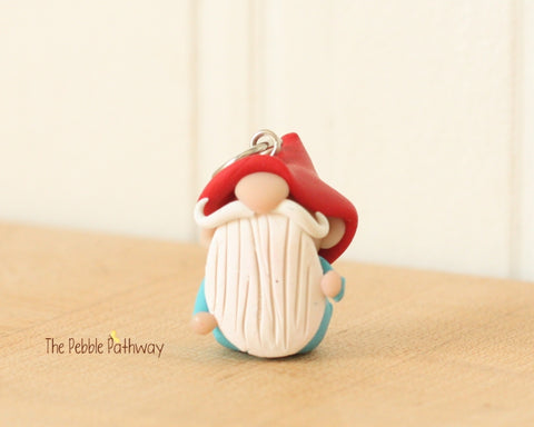 Gnome Ornament or Charm - ThePebblePathway