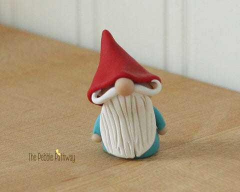 Gnome #7 - plant poke and fairy garden accessory
