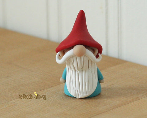 Gnome #8 - plant poke and fairy garden accessory