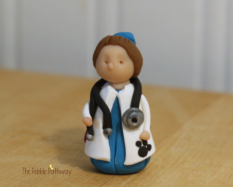 Girl Veterinarian Fairy - Gift for Veterinarian or Aspiring Veterinarian - ThePebblePathway