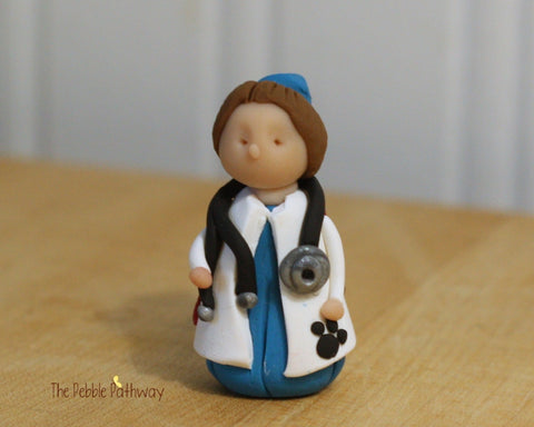 Girl Veterinarian Fairy - Gift for Veterinarian or Aspiring Veterinarian