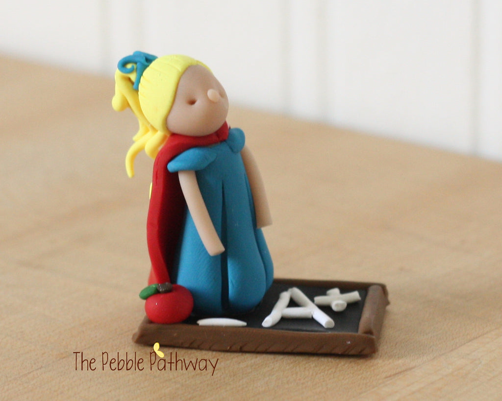 Custom Teacher fairy for Shannon - ThePebblePathway