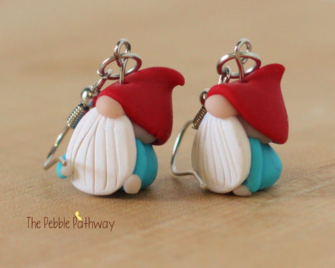 Tiny Gnome Earrings 0175