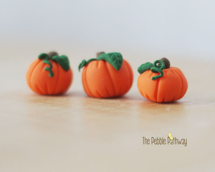 fairy garden halloween decorations miniature pumpkins plant pokes