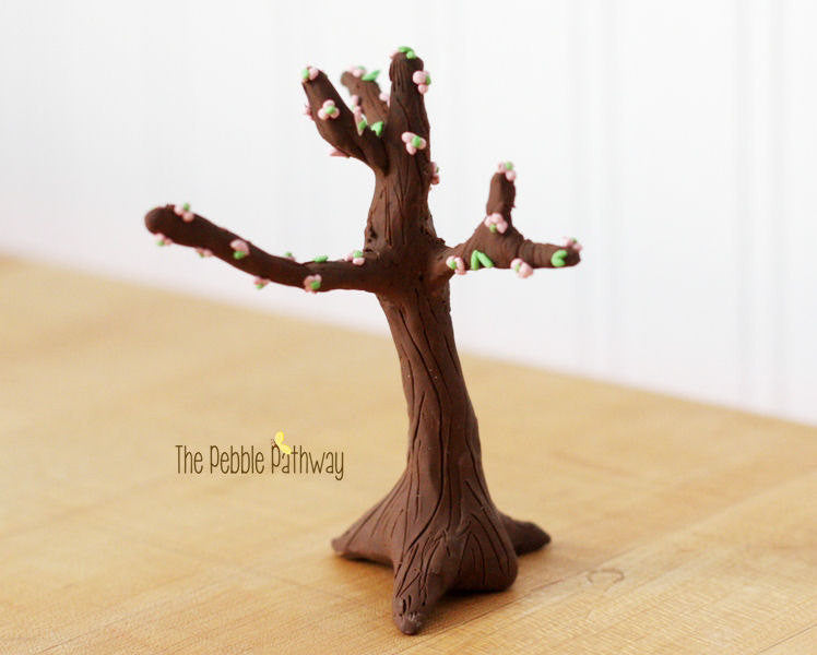 Miniature Spring Tree for Fairy Garden