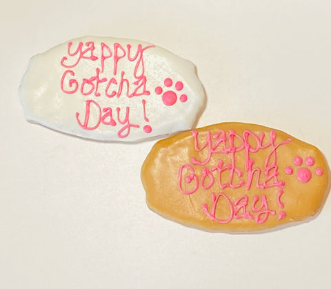 Gotcha Day Plaque Cookies (2)