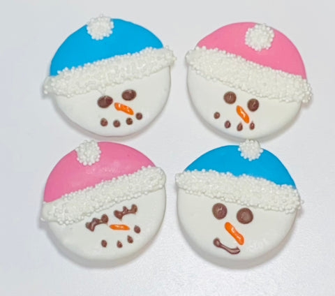 Snowman Face Cookie(3)