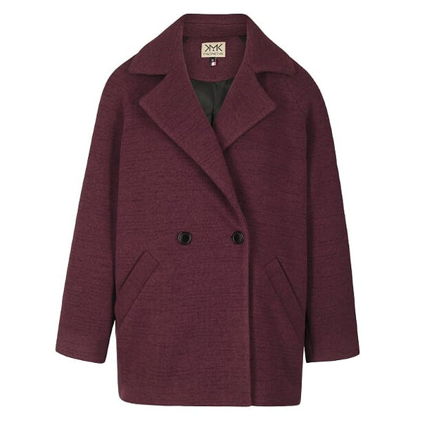 Manteau Osmose bordeaux