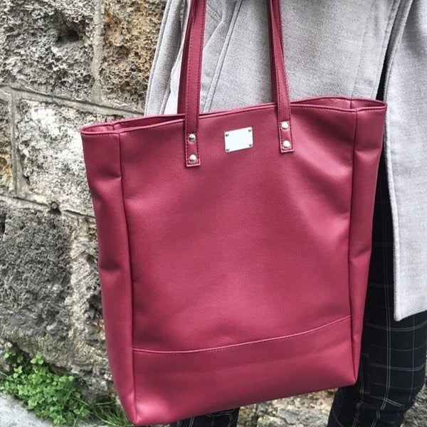 Sac shopping Paris City Framboise