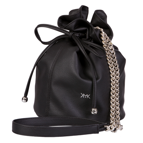 Sac bourse Paris Happy noir - MAGNETHIK