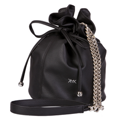 Sac bourse Paris Happy noir intense