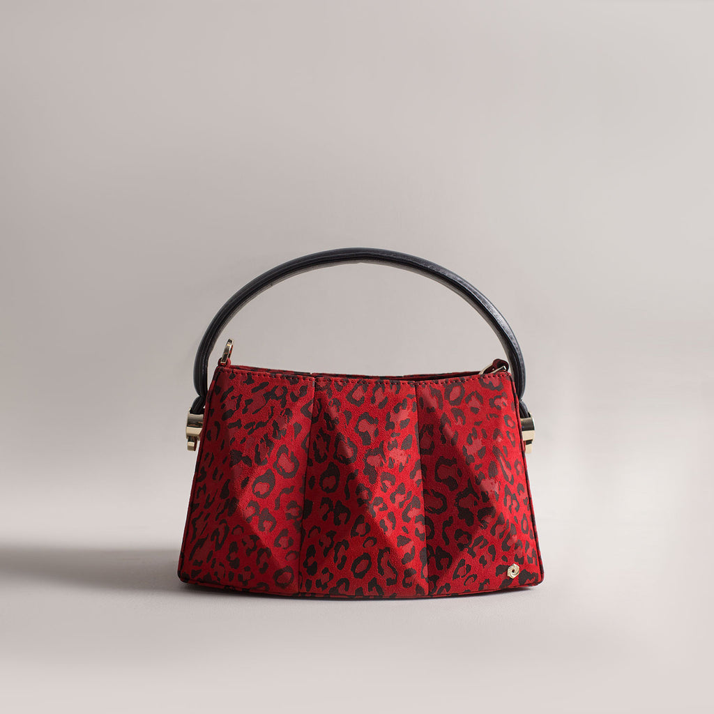 Hexella Minibag Red Leopard