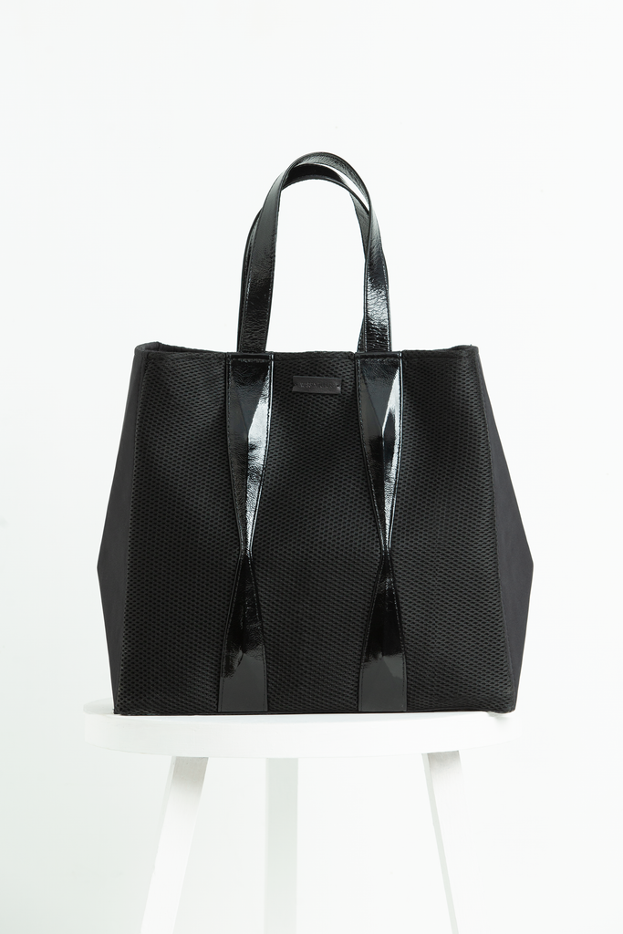 WARP Black Activewear Tote