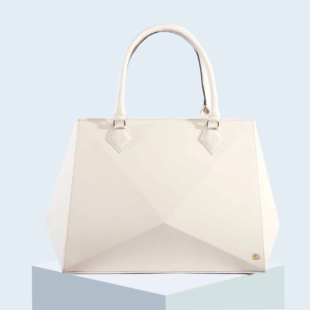 Hexella Tote Large Ivory