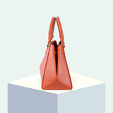 Hexella Midi Tote Poppy Orange