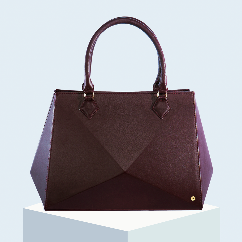 Hexella Tote Large Oxblood