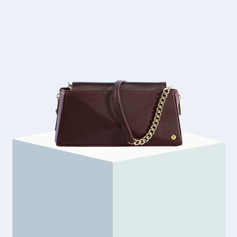 Hexella Wallet-on-Chain Oxblood
