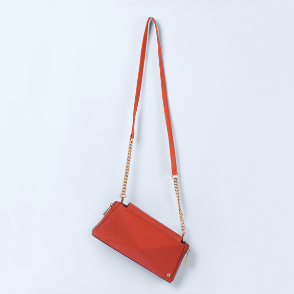 Poppy Orange Wallet on Chain