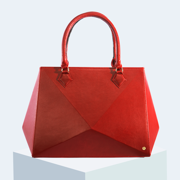 Hexella Tote Large Ruby