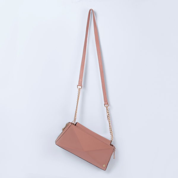 Blush Pink Wallet on Chain