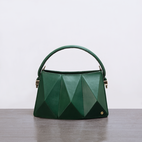 Hexella Minibag Emerald Green