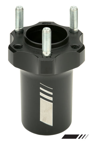 Compkart 25X85mm Front Hub - Standard In Black