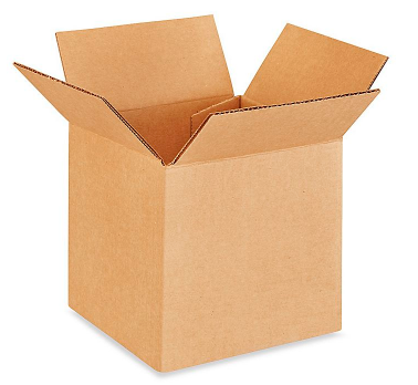 5x5x5 Corrugated Boxes Individual