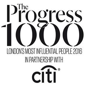 Listed on Evening Standard's Progress 1000