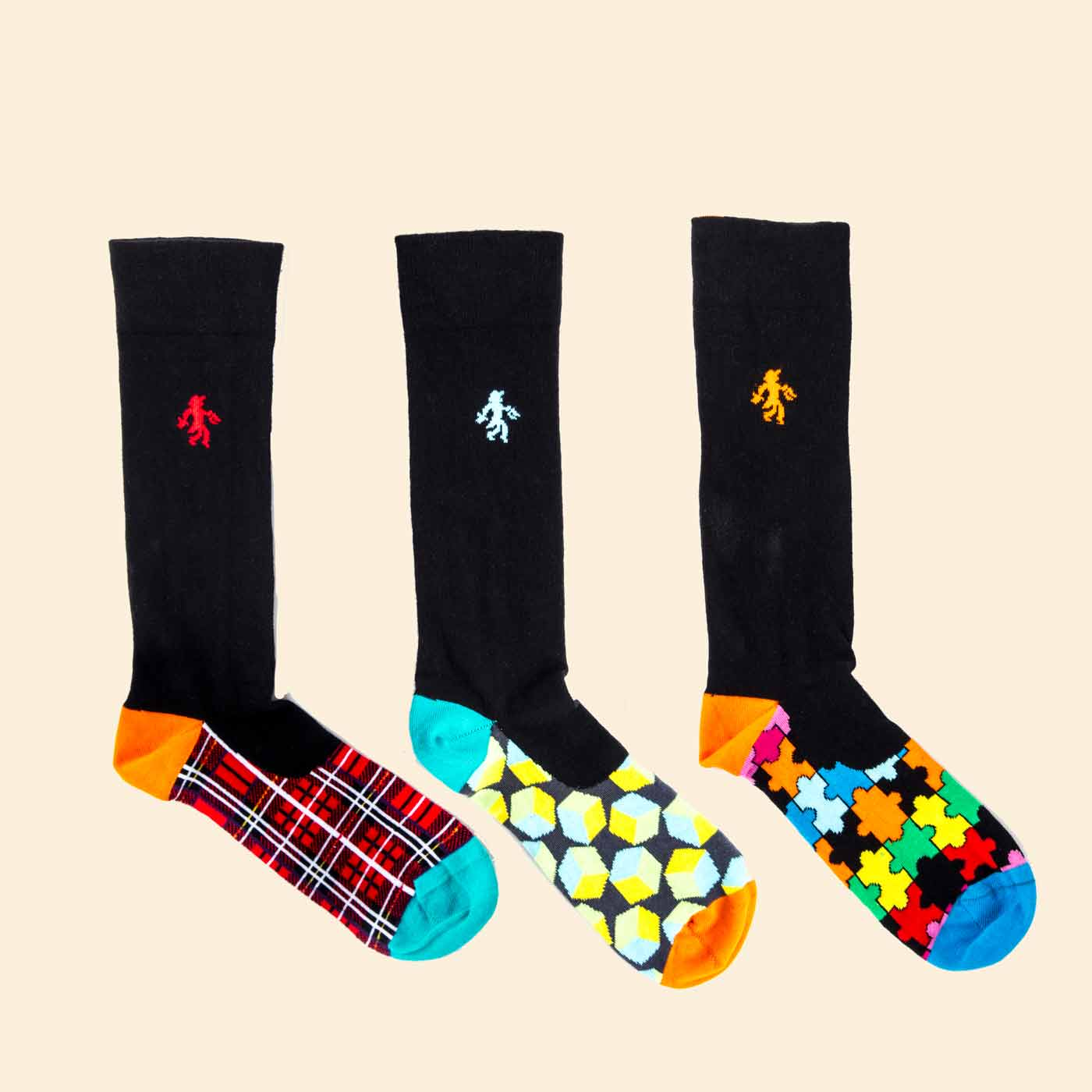 OUTLET Ambitious Trio Socks