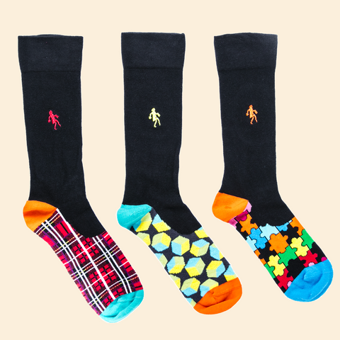 Romantic Trio Socks