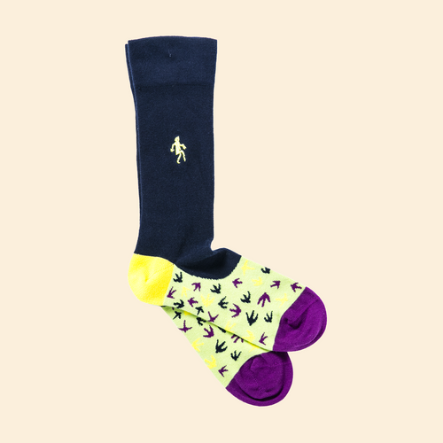 White Swallow Socks