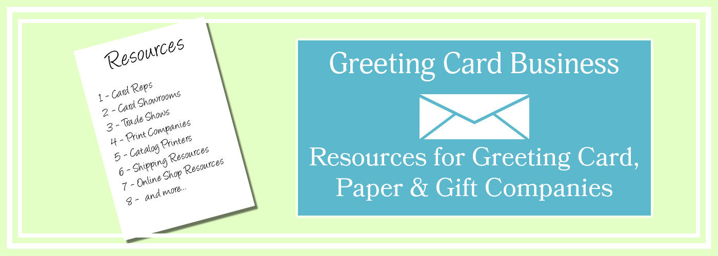 Greeting card business resources for paper gift companies greeting card business resources for paper gift companies m4hsunfo
