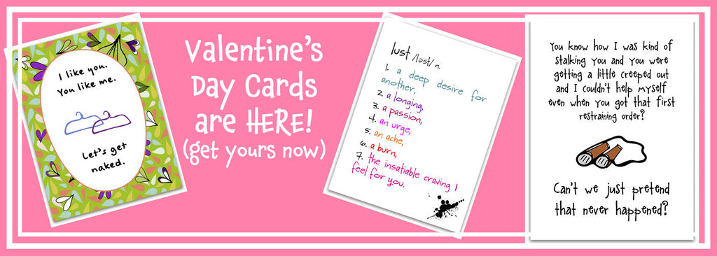 Valentine's Day is Here - Really - Time to Shop Valentine's Day Cards